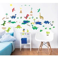 Muursticker dino`s Walltastic 58 stickers