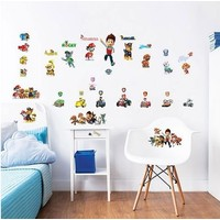 Muursticker Paw Patrol Walltastic 41 stickers