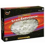 University Games Glow in the Dark sterren: Star Explosion