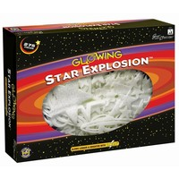 Glow in the Dark sterren: Star Explosion