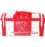AJAX Amsterdam Sporttas ajax rood/wit grunge 50x28x30 cm