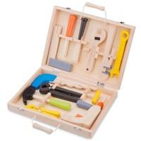 Gereedschapskist New Classic Toys 12-delig 29x21 cm