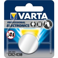 Knoopcel Varta Professional Lithium CR2430: 3V