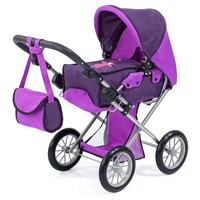 Poppenwagen Bayer City Star purper