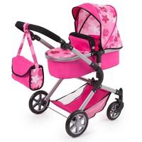 Poppenwagen Bayer Neo Star roze
