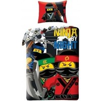 Dekbedovertrek Lego Ninjago Ninja night