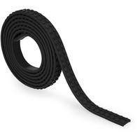 Block Tape Mayka Zuru 2 studs zwart 100 cm