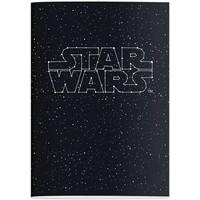 Schrift Star Wars A4 geruit