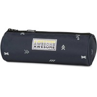 Etui Awesome Boys blue 8x23x8 cm