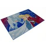 Frozen Disney Frozen Vloerkleed Anna en Elsa 95x133 cm