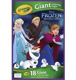 Frozen Reuze kleurplaten Frozen Crayola