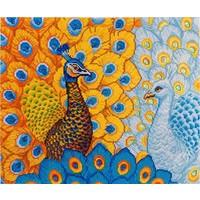 Romantic Peacocks Diamond Dotz: 57x49 cm