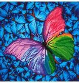 Diamond Dotz Flutter by Pink Diamond Dotz: 31x31 cm