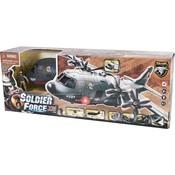 Vliegtuig Shark AB-115 speelset Soldier Force VIII