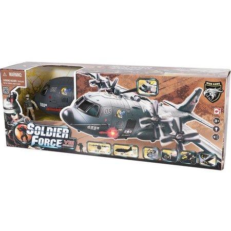 Soldier Force Vliegtuig Shark AB-115 speelset Soldier Force VIII