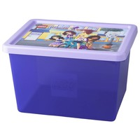 Opbergbox & deksel LEGO Friends large paars