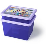 LEGO License Opbergbox & deksel LEGO Friends large paars