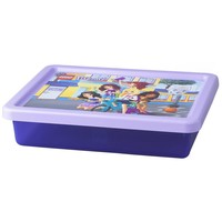 Opbergbox & deksel LEGO Friends small paars