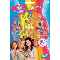 K3 Stickerboek - 600+ stickers