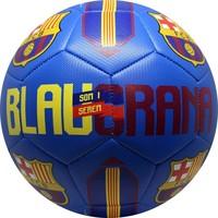 Bal barcelona leer groot blauw blauwgrana