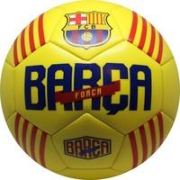 Barcelona voetbal leer groot - geel Catalunya
