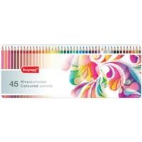 Kleurpotloden Bruynzeel kleurrijk: 45 stuks