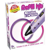 Refill kit 3d pen Creative roze en paars