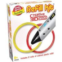 Refill kit 3d pen Creative rood en geel