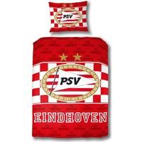 Dekbedovertrek PSV rood/wit