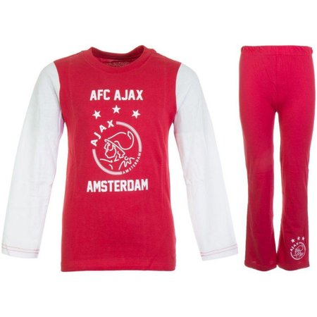 AJAX Amsterdam Pyjama ajax Amsterdam rood/wit AFC maat 164