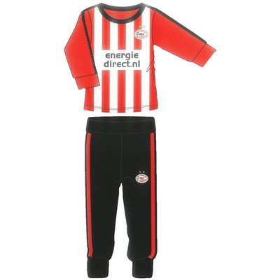 PSV Eindhoven Pyjama psv rood/wit maat 164