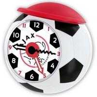 Wekker ajax bal rood/wit cap
