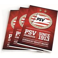 Schrift psv rood since 1913 A5 gelijnd 3-pack