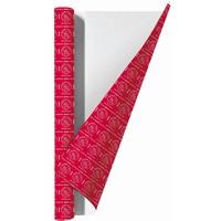 Kaftpapier ajax rood wij zijn 2x vel 100x70 cm