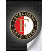 Feyenoord Rotterdam Schrift feyenoord grijs A4 gelijnd