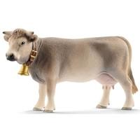 Schleich Braunvieh koe 13874 - Speelfiguur - Farm World - 13 x 3,8 x 7,8 cm