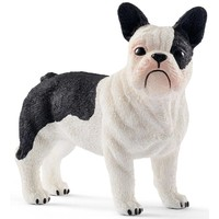Schleich Franse Bulldog 13877 - Hond Speelfiguur - Farm World - 4,5 x 1,7 x 4,1 cm