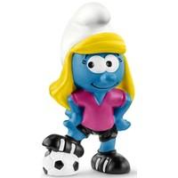 Smurfin voetbalspeelster Schleich 20805