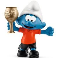 Smurf met trofee Schleich 20807