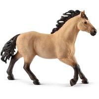 Schleich Quarter hengst 13853 - Paard Speelfiguur - Horse Club - 14,1 x 3,4 x 10,6 cm