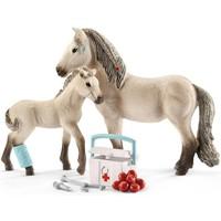 Schleich Paarden met Reddingsset Hannah 42430 - Paard Speelfigurenset - Horse Club - 19 x 5,2 x 17,3 cm