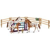 Schleich Trainingsset voor toernooi 42433 - Accessoire - Horse Club - 24,5 x 5,2 x 19 cm