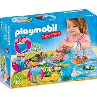 Feeen met plattegrond Playmobil
