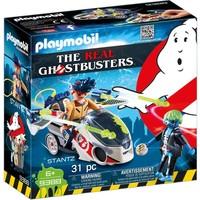 Stanz met luchtmoto Playmobil