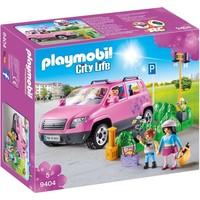 Familiewagen met parkeerplaats Playmobil