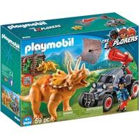 Offroad buggy met dinovangnet Playmobil
