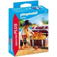 Piraat met schatkist Playmobil