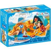 Familie aan het strand Playmobil