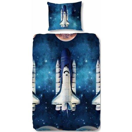 Good Morning Dekbedovertrek Good Morning space shuttle