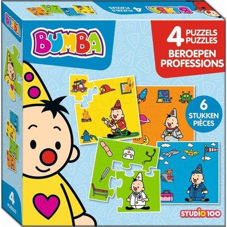 Bumba Bumba Puzzel 4 in 1 - Beroepen